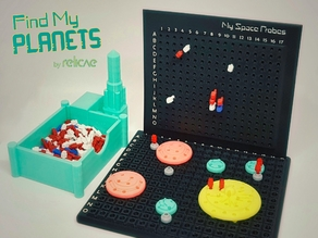 Find My Planets - Guessing Game (Battleship style)