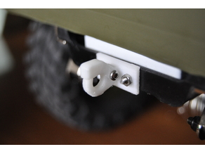 JEEP RC 1:10 Hitch hook original WWII With lock... SawBack...
