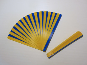 Print-in-Place Hand Fan