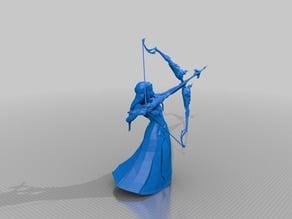 Zelda: Princess Zelda Light Arrow Smash Bros Trophy Clean