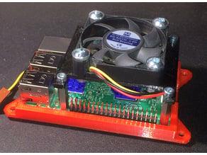 Raspberry Pi 2/3 50mm fan mount