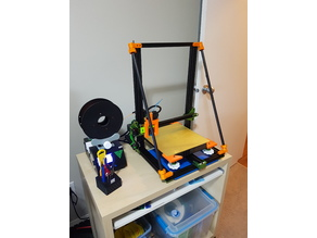 Z Axis Braces Ver 2.0 - Minimal Hardware and Tools Required - Tevo Tornado, Creality CR-10