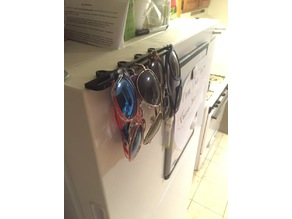 Fridge Top Sunglasses Rack