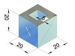 Calibrate in millimeter
