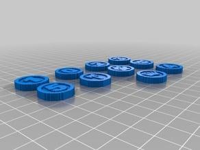 (3D Slash) tokens_set