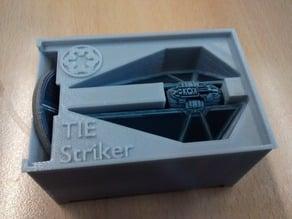 TIE Striker Holder (X-Wing Miniatures) for Stanley organizer