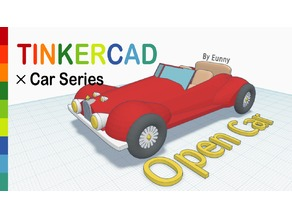 Open Car with Tinkercad