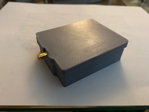 Case for AA-30.Zero Antenna Analyzer and Arduino