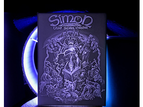Simon The Sorcerer Game Artwork - High Resolution Lithophane