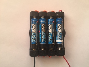 4x AAA battery holder