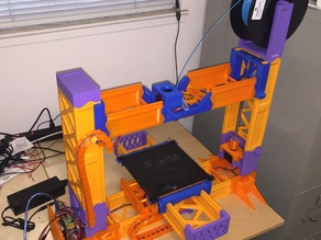 Snappy RepRap - Snap Together Printable 3D Printer