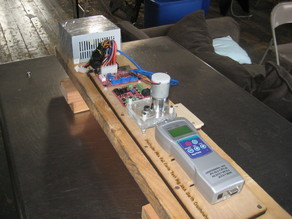 Plastruder Fail Force Test Rig