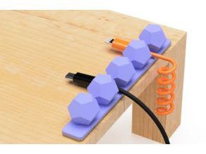 USB cable holder (C)