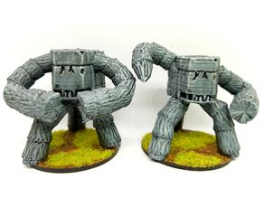 Earth elemental for 28mm tabletop gaming