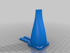 My Customized Generic Parametric Cooling Fan Nozzle