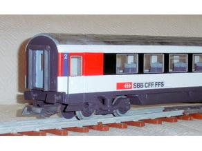 Personenwagen SBB Eurocity 1:32 / 45mm (LGB)