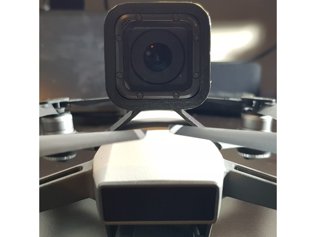 Soporte Gopro Hero Session Para Spark By Hmcard Thingiverse