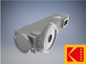 Vintage Kodak Service Rangefinder 1:1 Scale Replica