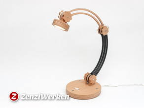 "Desk Lamp ""The Arc"" cnc/laser"