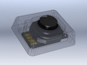 Taranis third gimbal joystick enclosure