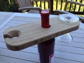 Bamboo Wine Glass Holders