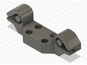 Anet A6/A8 Y Belt Holder for shorter belts (with correctly installed transversal)