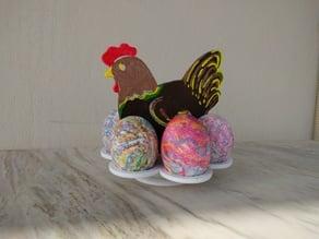 Easter Egg Chicken Holder