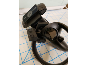 Oculus Touch Controller Camera Mount