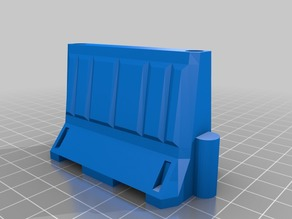 1/18 scale Interlocking Traffic Barrier