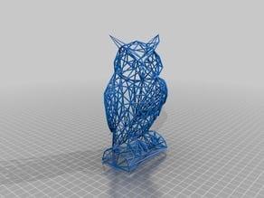 Owl Wireframe