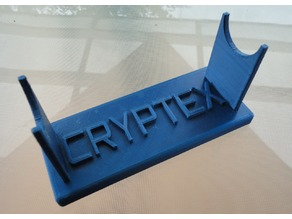 Cryptex Stand (customizable)