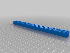 XL LEGO brick 24x2
