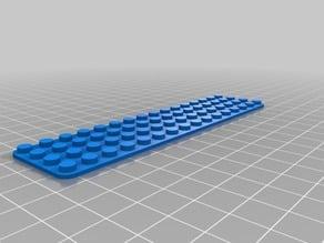 16 x 4 baseplate LEGO-Compatible Brick