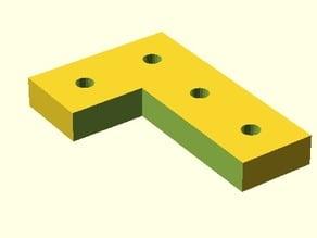 Printable NanoBeam L Plate