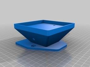 Lg Delta 3D Printer Anti Vibration Feet (Remix of CR-10 Anti Vibration Feet)
