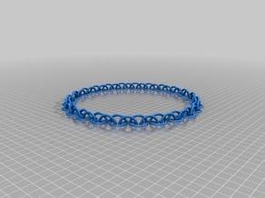 48 Link Medium and Medium Half Circle Chain