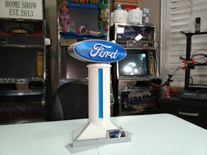 MOTORIZED | Rotating FORD Sign