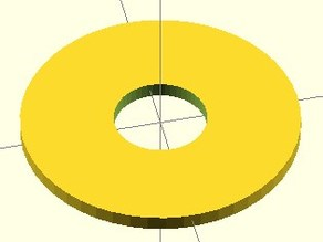 Parametric Washer