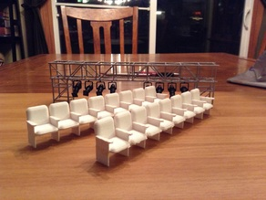 1:24 scale theatre audience seating