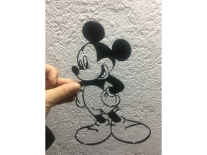 Mickey Mouse - wall art / decoration