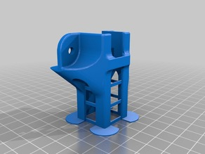 Tronxy X3 Y Belt tensioner with Print stabilizers