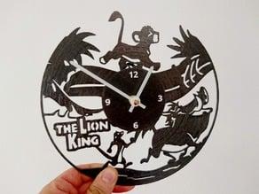 Reloj vinyl Rey Leon