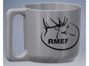 RMEF Custom 30oz Yeti handle