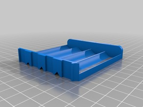 Quad 18650 Battery Sled/Holder/Tray