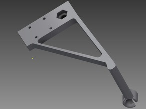 Type A Machines 2014  Improved Spool holder with bearings and G2 extruder lower guide