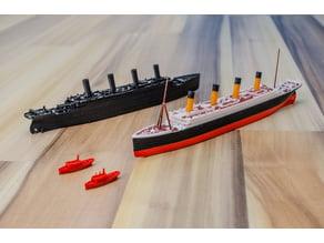 RMS TITANIC - scale 1/1000