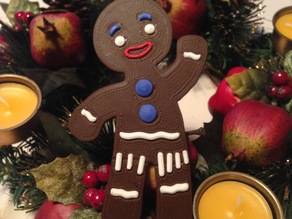 Gingerbread Man from Shrek/multicolor version