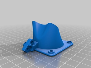 E3D V6  40mm fan mount for ultimaker original