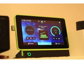 Wedge Raspberry Pi TouchScreen Holder