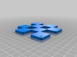 Extensible Chessboard - 200mm x 5mm